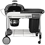 Weber 15501998 Grill, Performer Deluxe GBS - Holzkohle, 126x72x102 cm, schwarz