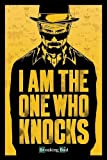 "Poster 61 x 91.5 cm - ""Breaking Bad - I am the one who knocks"""