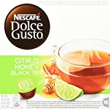 Nescafé Dolce Gusto Citrus Honey Black Tea, 3er Pack (48 Kapseln)